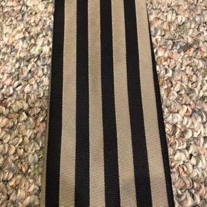 Structure Silk Striped Tie